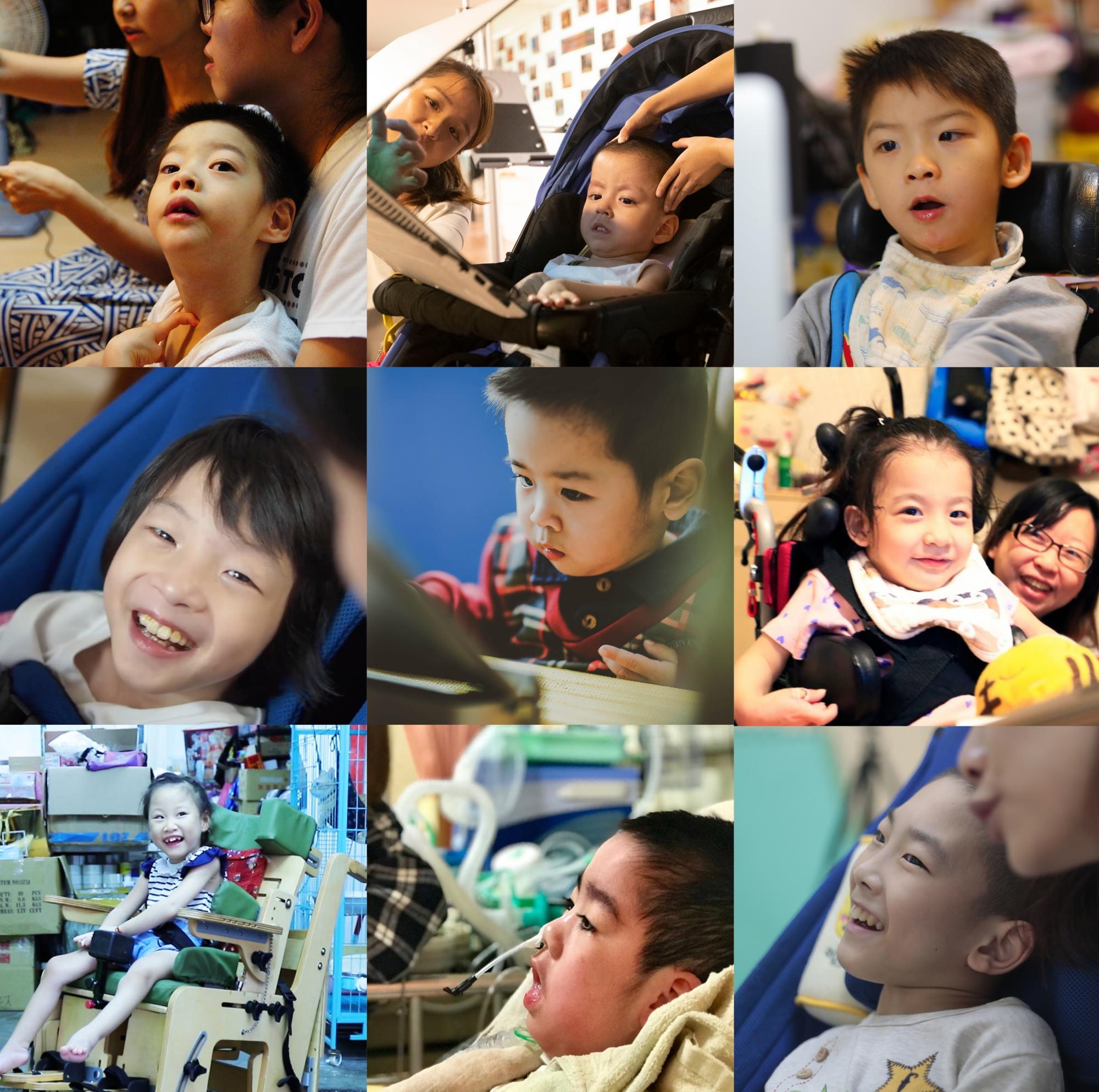 台灣還有十萬名重症孩童等待幫忙